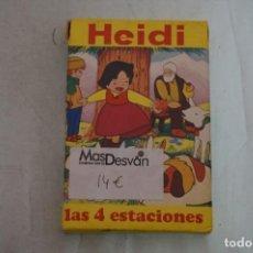 Jogos Antigos: ANTIGUA BARAJA DE CARTAS HEIDI LAS 4 ESTACIONES - ESTAN NUEVAS. Lote 240983435