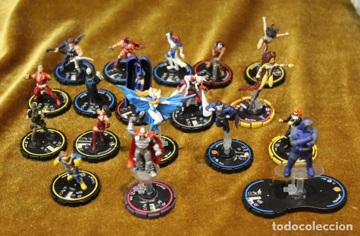 Juegos Antiguos: Figuras Marvel y DC, plástico - Foto 3 - 241084745