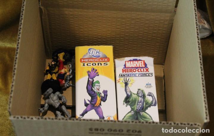 Juegos Antiguos: Figuras Marvel y DC, plástico - Foto 5 - 241084745
