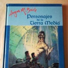 Juegos Antiguos: LIBRO PERSONAJES DE LA TIERRA MEDIA - EL SEÑOR DE LOS ANILLOS. Lote 241134610