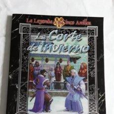 Juegos Antiguos: LA CORTE DE INVIERNO SUPLEMENTO DE ROL PARA LA LEYENDA DE LOS CINCO ANILLOS DE LA FACTORIA , NUEVO.. Lote 241545140