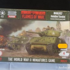 Jogos Antigos: FLAMES OF WAR M4A32E JUMBO TANKS. Lote 243112935