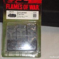 Giochi Antichi: FLAMES OF WAR UNIVERSAL CARRIER EN BLISTER. Lote 243113765