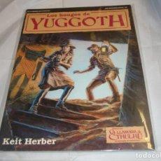 Juegos Antiguos: LA LLAMADA DE CTHULHU LOS HONGOS DE YUGGOTH MUY BUEN ESTADO. Lote 243461325