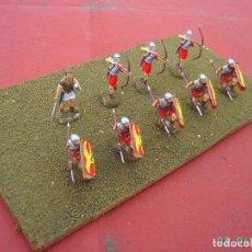 Juegos Antiguos: DIORAMA SOLDADOS ROMANOS IMPERIALES.ESCALA 1/72.. Lote 244025615