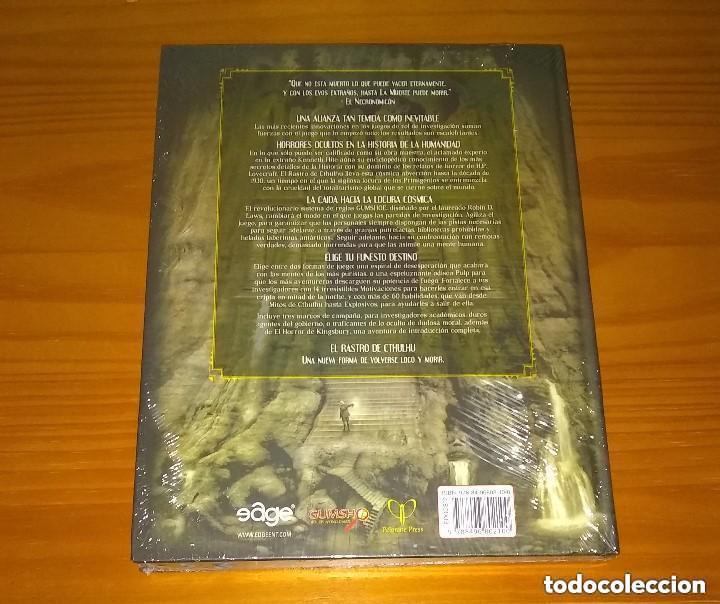 Juegos Antiguos: EL RASTRO DE CTHULHU JUEGO DE ROL DE HORROR CÓSMICO EN LOS MUNDOS DE H.P. LOVECRAFT EDGE PRECINTADO - Foto 2 - 244686465