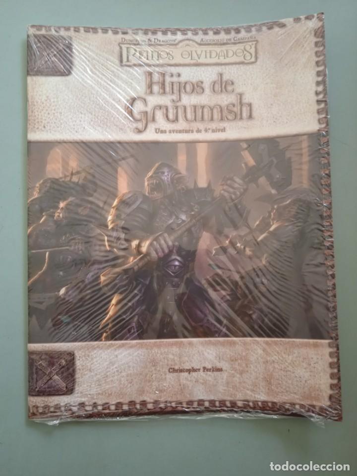 DUNGEONS & DRAGONS REINOS OLVIDADOS-HIJOS DE GRUUMSH -ROL-PLANETA (Juguetes - Rol y Estrategia - Juegos de Rol)