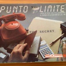 Juegos Antiguos: JUEGO PUNTO LIMITE DE NAC & COOPER MADE IN SPAIN 1983 WARGAME ESTRATEGIA INCOMPLETO. Lote 244870445