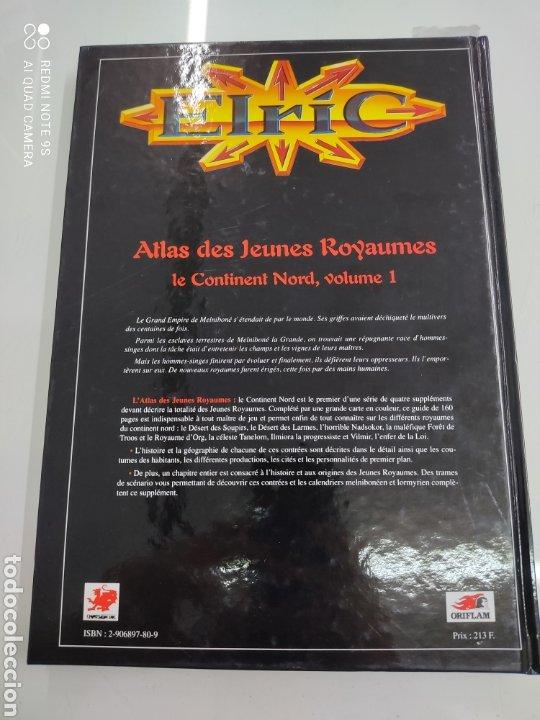 Juegos Antiguos: JUEGO ROL ELRIC LES JEUNES ROYAUMES LE CONTINENT NORD VOL. 1 ORIFLAM 1996 PERFECTO ESTADO - Foto 4 - 245620300
