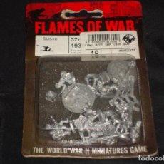 Juegos Antiguos: FLAMES OF WAR 37MM OBR 1939 GUN. Lote 245767305