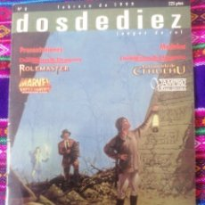Juegos Antiguos: DOSDEDIEZ. N8. FEBRERO 1999.. Lote 246086960