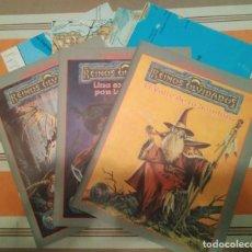 Juegos Antiguos: LIBROS Y MAPAS DE LA CAJA GRIS ESCENARIO DE CAMPAÑA PARA REINOS OLVIDADOS - ROL DUNGEONS. Lote 246229235