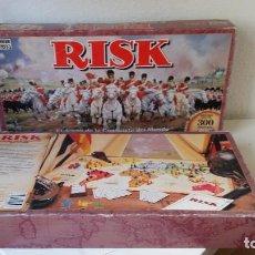 Jogos Antigos: JUEGO DE MESA RISK EL CLÁSICO DE ESTRATEGIA DEL AÑO 1992 VER FOTOS. Lote 246267930