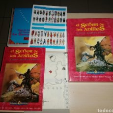 Juegos Antiguos: EL SEÑOR DE LOS ANILLOS - JUEGO DE AVENTURAS BÁSICO - JUEGO DE ROL DE LA TIERRA MEDIA. Lote 246349020