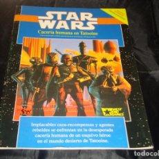 Juegos Antiguos: STAR WARS CACERIA HUMANA EN TATOOINE CON MAPA. Lote 246724505