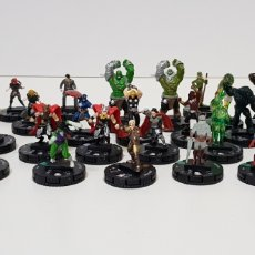 Juegos Antiguos: LOTE 30 HEROCLIX - WIZKIDS - SECRET WARS BATTLE WORD - MARVEL 2018. Lote 248068625