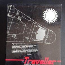 Juegos Antiguos: TRAVELLER FUNDA Y MANUAL. Lote 250161325