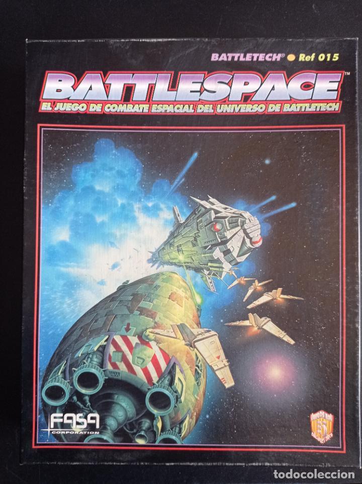 BATTLESPACE EL JUEGO DE COMBATE ESPACIAL DEL UNIVERSO DE BATTLETECH (Juguetes - Rol y Estrategia - Juegos de Rol)