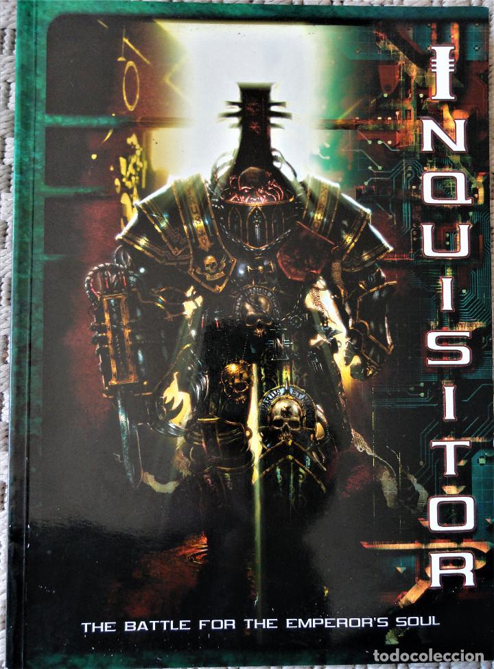 INQUISITOR - THE BATLE FOR THE EMPEROR'S SOUL. DESCATALOGADO, 2001. (Juguetes - Rol y Estrategia - Otros)
