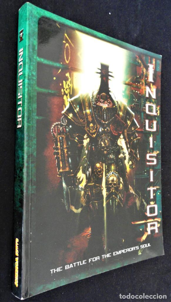Juegos Antiguos: INQUISITOR - THE BATLE FOR THE EMPERORS SOUL. Descatalogado, 2001. - Foto 2 - 251083680