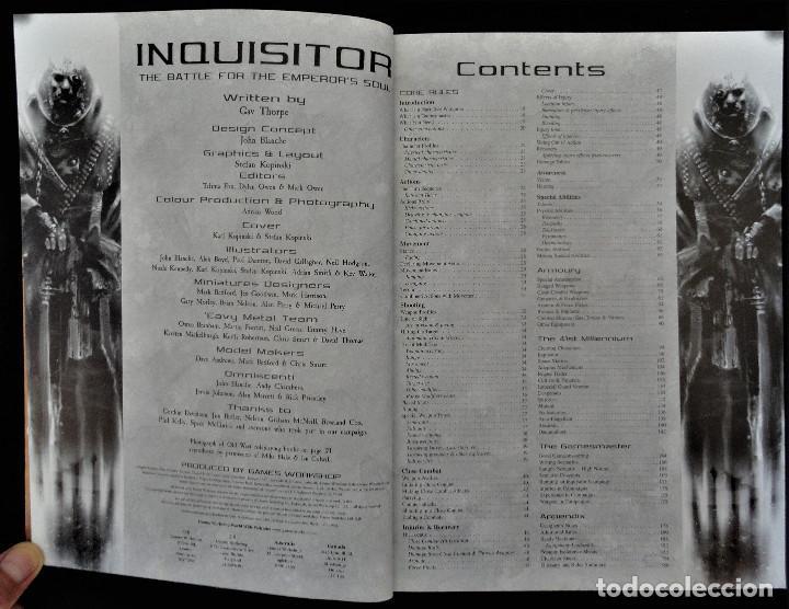 Juegos Antiguos: INQUISITOR - THE BATLE FOR THE EMPERORS SOUL. Descatalogado, 2001. - Foto 3 - 251083680