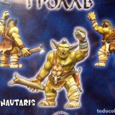 Juegos Antiguos: FIGURA PARA MONTAR - TROLL - RING OF RULE (ZVEZDA JSC 2002) REFERENCIA 8823. Lote 251136470