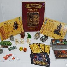 Juegos Antiguos: DESPIECE DUNGEONS AND DRAGONS PARKER HASBRO CON TABLEROS. Lote 251425535