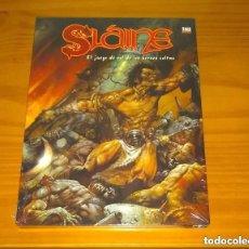 Juegos Antiguos: SLAINE EL JUEGO DE ROL DE LOS HÉROES CELTAS SIMON BISLEY D&D EDGE PRECINTADO. Lote 252610215