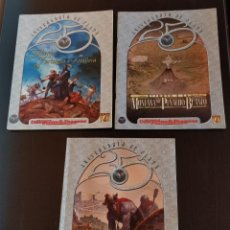 Juegos Antiguos: LOTE PACK 3 MODULOS DUNGEONS & DRAGONS 25 ANIVERSARIO DE PLATA TSR GREYHAWK WIZARD OF THE COAST. Lote 253091835