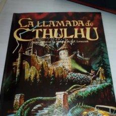 Juegos Antiguos: JUEDO DE ROL DE LA LLAMADA DE CTHULHU JOC. Lote 253542095