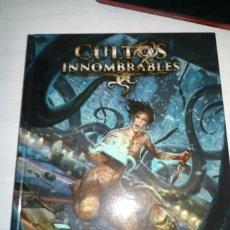 Juegos Antiguos: JUEDO DE ROL CULTOS INNOMBRABLES CTHULHU. Lote 253545435