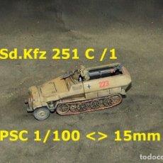 Juegos Antiguos: SDKFZ 251 C /1 DE PSC 15MM1/100 DEL DAK. Lote 253585460