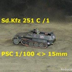 Juegos Antiguos: SDKFZ 251 C /1 DE PSC 15MM-1/100. Lote 253585490