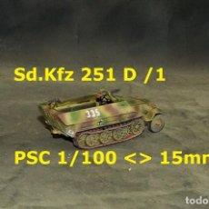 Juegos Antiguos: SDKFZ 251 D /1 DE PSC 15MM-1/100. Lote 253585530