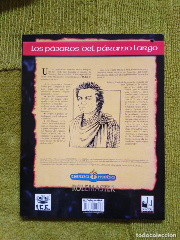 Juegos Antiguos: EL SEÑOR DE LOS ANILLOS LOS PAJAROS DE PARAMO LARGO (LA FACTORIA DE IDEAS LF821) - Foto 2 - 253901125