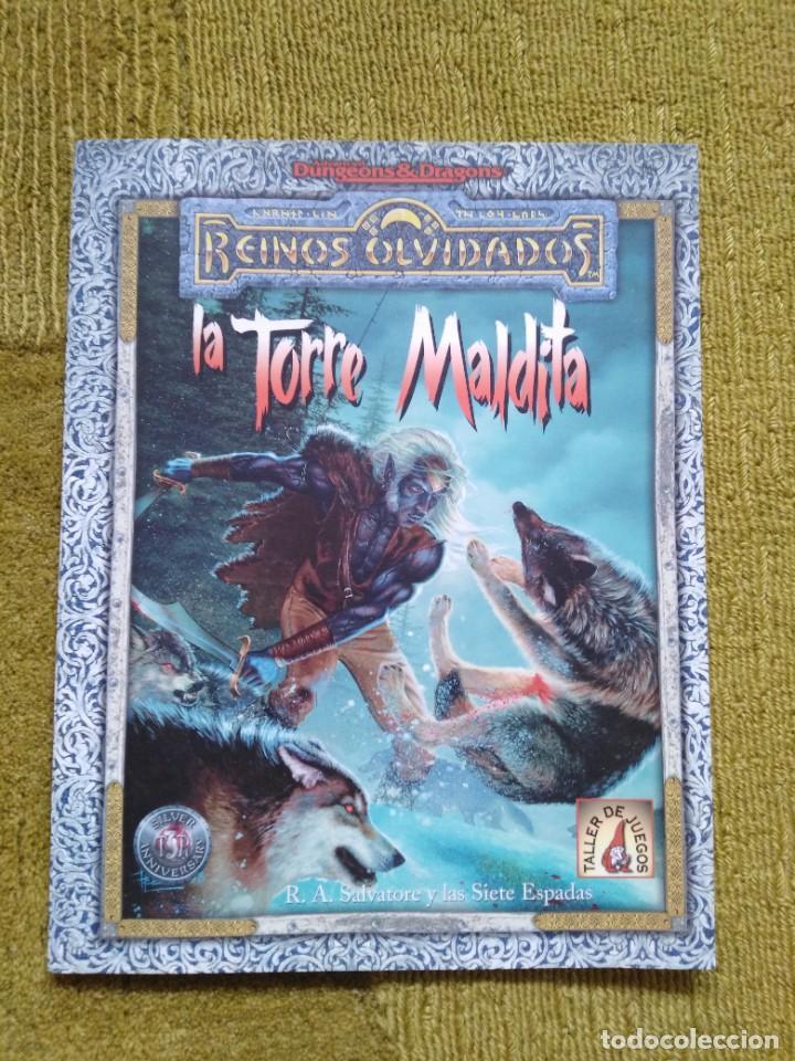 ADVANCED DUNGEONS & DRAGONS LA TORRE MALDITA (MARTINEZ ROCA TSR0020) (Juguetes - Rol y Estrategia - Juegos de Rol)