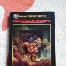Juegos Antiguos: ADVANCED DUNGEONS & DRAGONS GUIA DEL DUNGEON MASTER (MARTINEZ ROCA TSR0002) - TAPA DURA. Lote 253921865