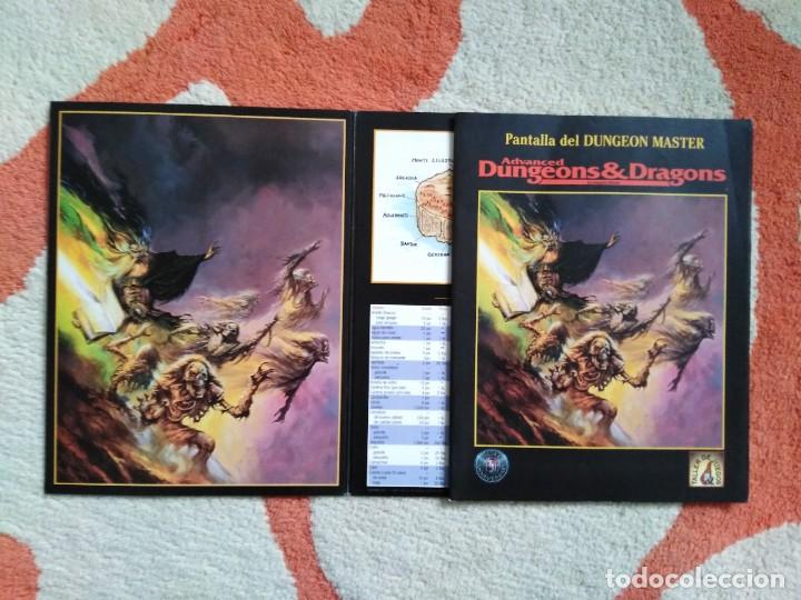 ADVANCED DUNGEONS & DRAGONS PANTALLA DEL DUNGEON MASTER (MARTINEZ ROCA TSR0010) (Juguetes - Rol y Estrategia - Juegos de Rol)