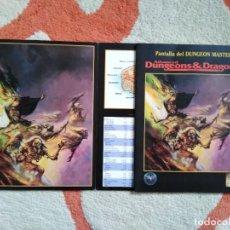 Juegos Antiguos: ADVANCED DUNGEONS & DRAGONS PANTALLA DEL DUNGEON MASTER (MARTINEZ ROCA TSR0010). Lote 253922555