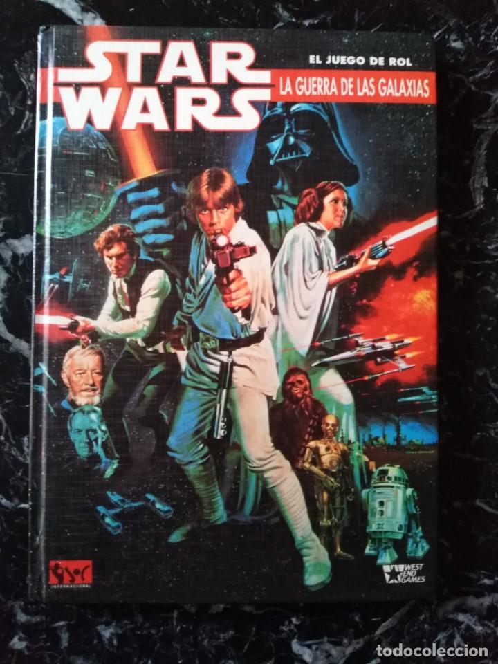 STAR WARS EL JUEGO DE ROL BASICO (JOC INTERNACIONAL 401) - TAPA DURA (Juguetes - Rol y Estrategia - Juegos de Rol)