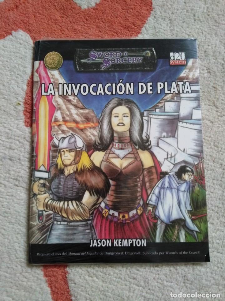DUNGEONS & DRAGONS LA INVOCACION DE PLATA (LA FACTORIA LFDD309) (Juguetes - Rol y Estrategia - Juegos de Rol)