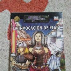 Juegos Antiguos: DUNGEONS & DRAGONS LA INVOCACION DE PLATA (LA FACTORIA LFDD309). Lote 253927625