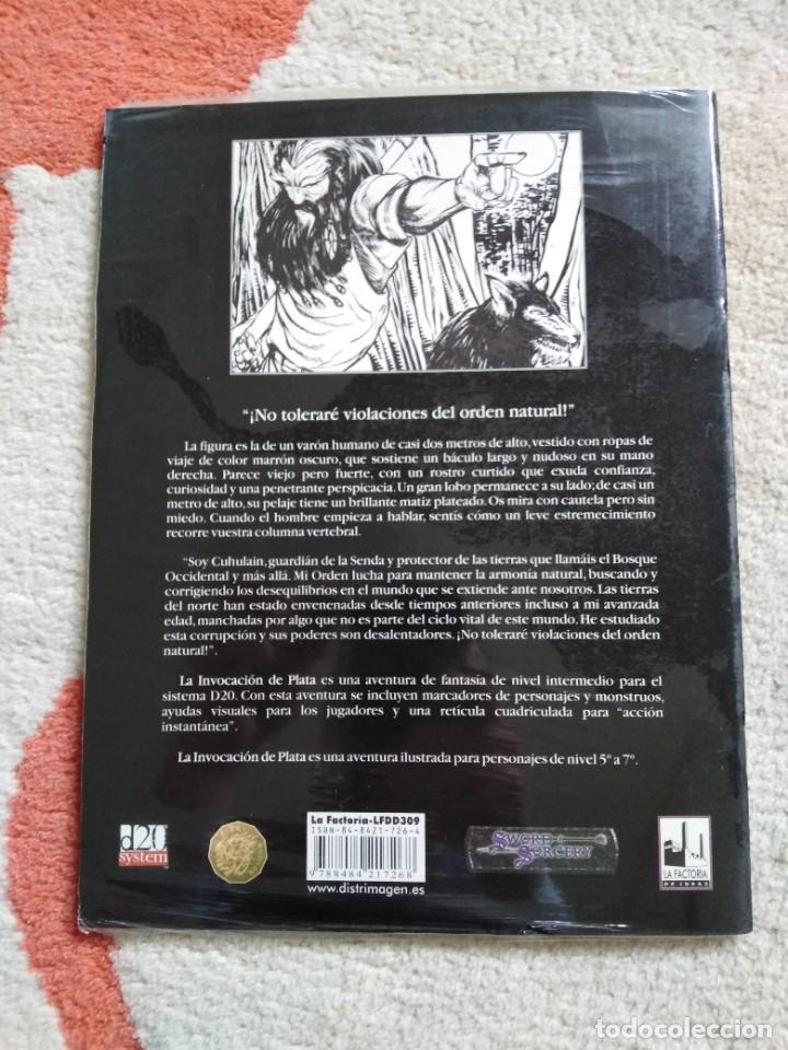 Juegos Antiguos: DUNGEONS & DRAGONS LA INVOCACION DE PLATA (la factoria lfdd309) - Foto 2 - 253927625