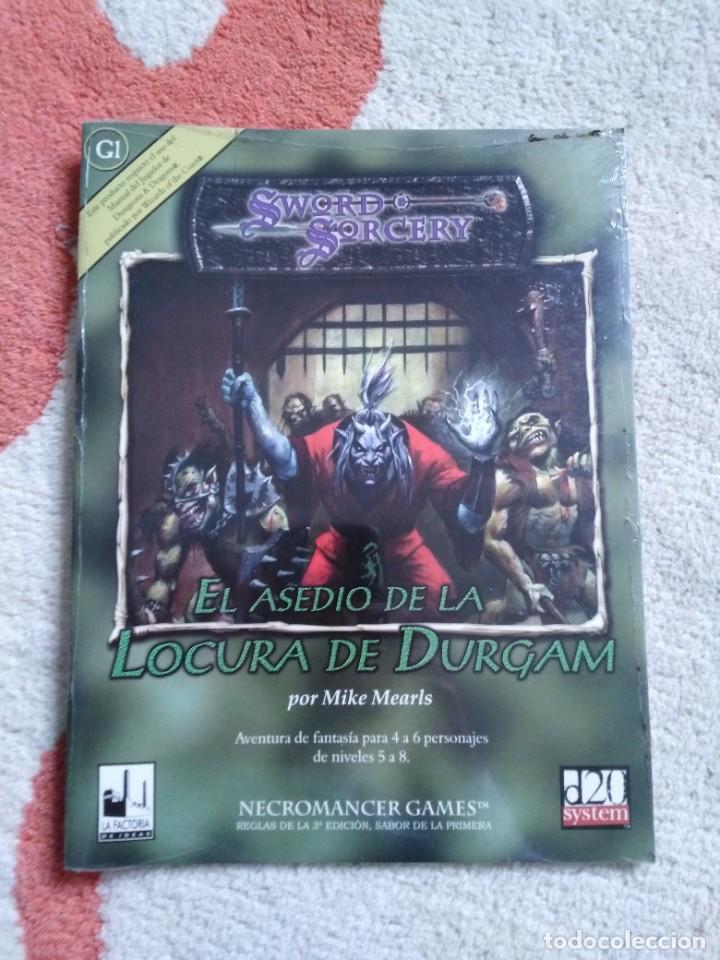 DUNGEONS & DRAGONS EL ASEDIO DE LA LOCURA DE DURGAM (LA FACTORIA LFDD207) (Juguetes - Rol y Estrategia - Juegos de Rol)
