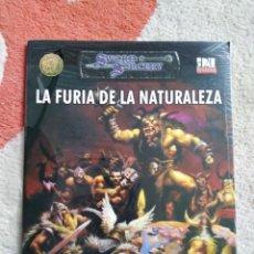Juegos Antiguos: DUNGEONS & DRAGONS LA FURIA DE LA NATURALEZA (LA FACTORIA LFDD301). Lote 253928260