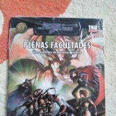 Juegos Antiguos: DUNGEONS & DRAGONS PLENAS FACULTADES (LA FACTORIA LFDD303). Lote 253928465