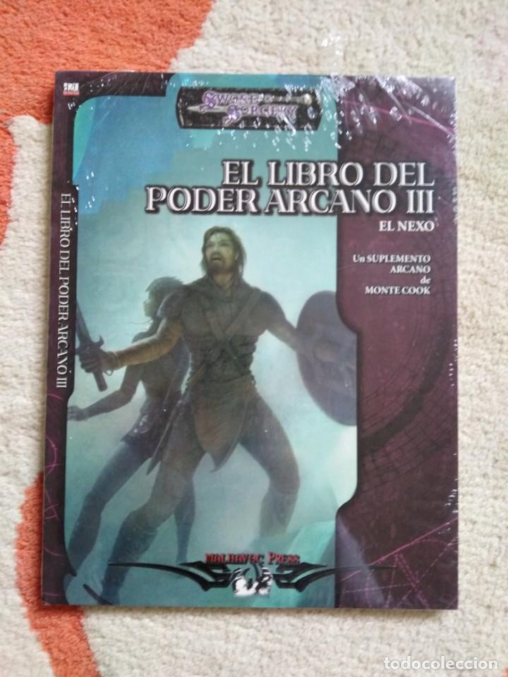 DUNGEONS & DRAGONS EL LIBRO DEL PODER ARCANO III (LA FACTORIA LFDD359) (Juguetes - Rol y Estrategia - Juegos de Rol)