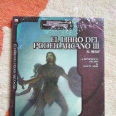 Juegos Antiguos: DUNGEONS & DRAGONS EL LIBRO DEL PODER ARCANO III (LA FACTORIA LFDD359). Lote 253928745