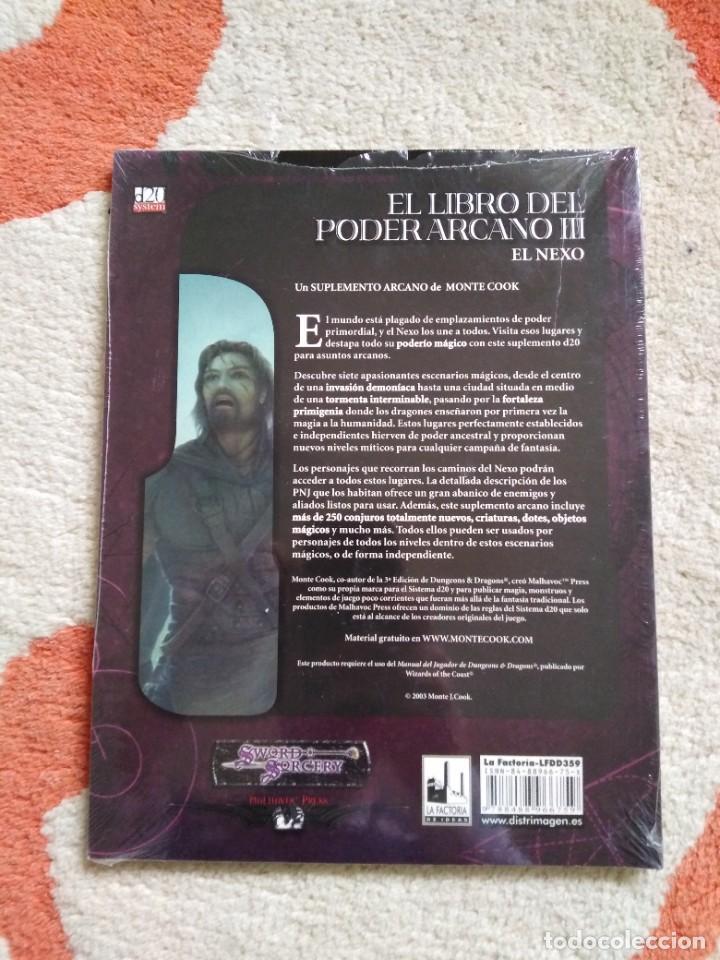 Juegos Antiguos: DUNGEONS & DRAGONS EL LIBRO DEL PODER ARCANO III (la factoria lfdd359) - Foto 2 - 253928745