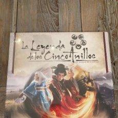 Juegos Antiguos: LA LEYENDA DE LOS CINCO ANILLOS EL JUEGO DE CARTAS CAJA BÁSICA LCG EDGE PRECINTADO. Lote 253951175